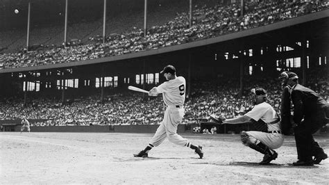ted williams baseball swing boston red sox all time starting lineup the starting nine
