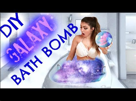 how to make diy lush bath bombs without citric acid diy how to make a galaxy bath bomb