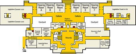 Us Capitol Building Floor Plan by Capitol History Gateway Visit