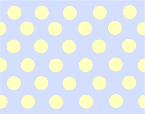 tile vector pattern with white polka dots on yellow background stock