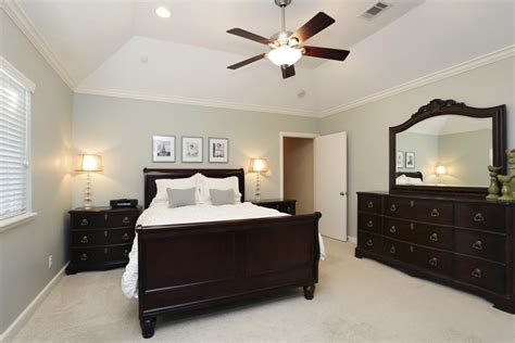 wooden ceiling fans with lights trey ceiling bedrooms