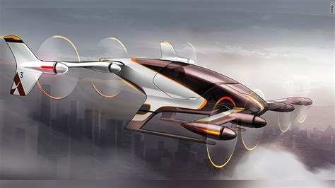 Flying Car Airbus by Airbus Offers A Peek At Its Flying Taxi