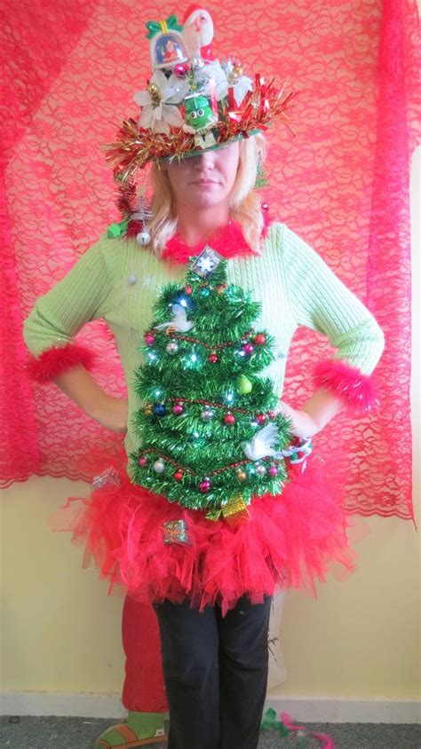 ugly christmas sweater ideas with lights adorable 2 doves a pear in garland christmas tree ugly