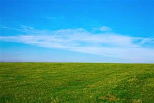 Premium Lawn And Landscape by Green Field And Blue Sky Free Stock Photo Public Domain