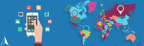 geolocation mobile geolocation app builder gps location based app development