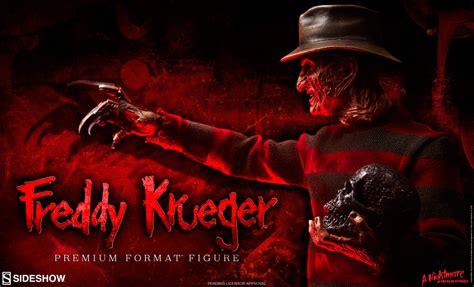 Fredy Kruger freddy krueger premium format figure preview sideshow