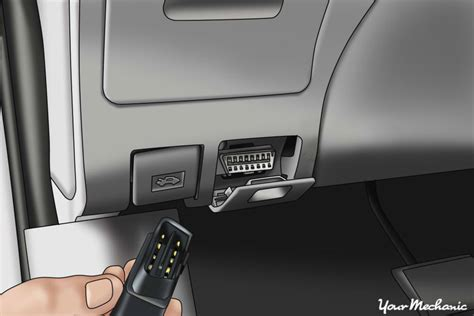 Obd Port In Car by How To Read And Understand Obd Ii Codes Yourmechanic Advice