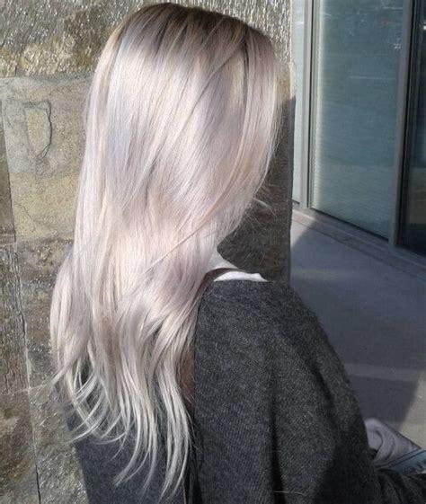 metallic pearl blonde  blonde ideas youll
