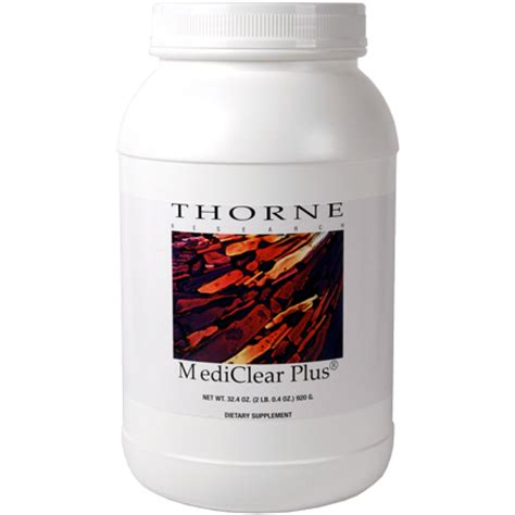 Thorne 10 Day Detox by Vegalite Vanilla 30 Servings Thorne Research