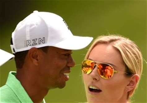 lindsey vonn quits lindsey vonn all smiles as tiger woods reveals he can t