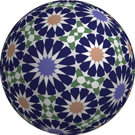 non pattern islamic star patterns