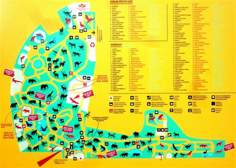 barcelona zoo map barcelona mi alma zoo de barcelona