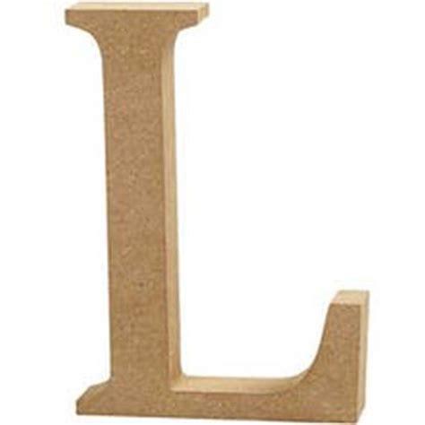 l at mdf wooden letter l 13 cm hobbycraft