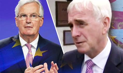 brexit john mcdonnell shockingly admits party may back