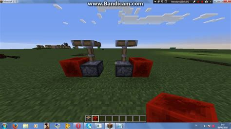 membuat robot minecraft cara membuat robot di minecraft pc youtube