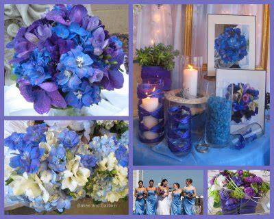 casar natal decoracao lilas  azul moderna  delicada