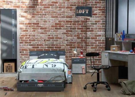 schlafzimmer loft innenausstattung im industriestil