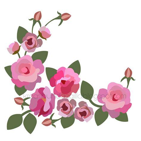 desain label bunga kreasi bundae qilla si cantik mawar