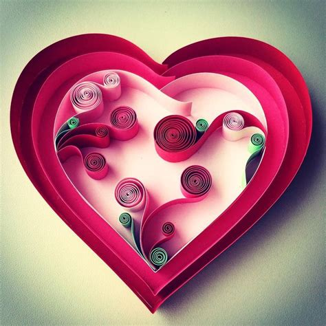 heart quilling pattern 366 best quilling hearts images on pinterest quilling