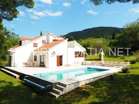 house with pool family house with pool for rent konavle croatian real estate and tourist