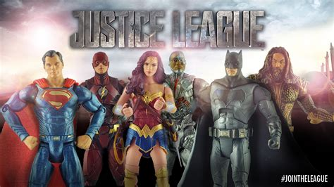 justice league film characters first look at justice league movie figures