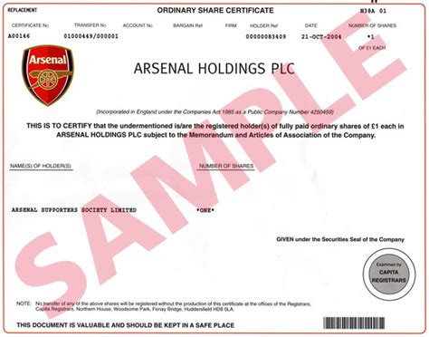 Arsenal Holdings Plc | arsenal holdings plc football club owners