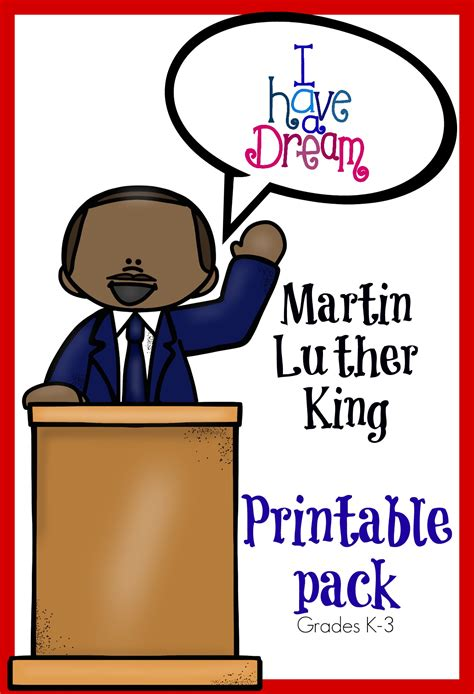 printable martin luther king poster martin luther king jr memory pack only passionate curiosity