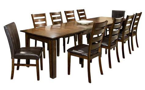 11 piece dining room set 11 piece dining set with table and chairs by intercon