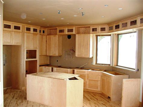 Shaker Door Kitchen Cabinets Unfinished Shaker Cabinets Fanti