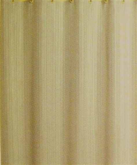 beige and gold curtains beige gold solid shower curtain with sateen stripe finish