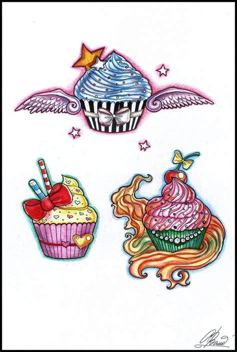 cupcake tattoos designs cupcake tattoos by raynecoldkiss on deviantart