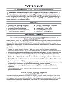 Accounts Payable Resume Samples Accounts Payable Manager Resume Best Resume Sample