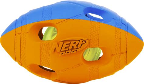 nerf light up football nerf light up bash football small orange