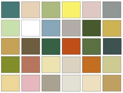 mid century modern colors mid century modern interior color chips color
