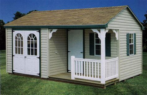 oko storage shed porch plans house plans