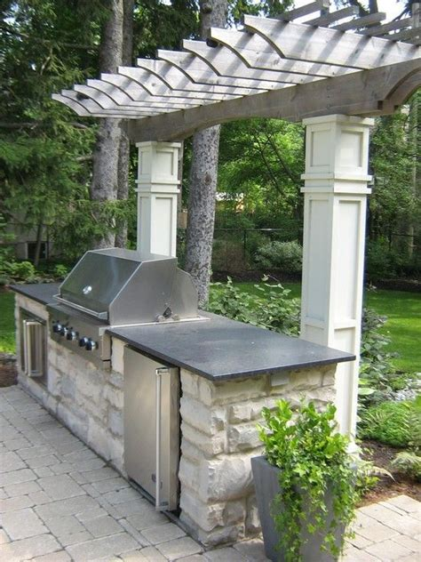 outdoor bbq best 25 outdoor barbeque area ideas on