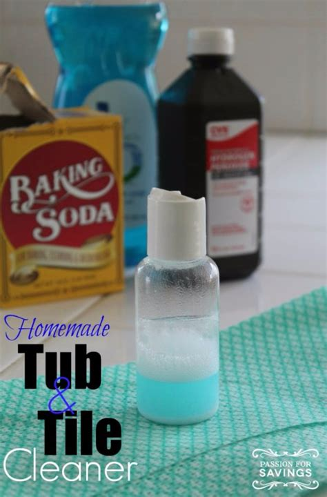 bathroom tub cleaner 41 best homemade cleaner recipes diy joy