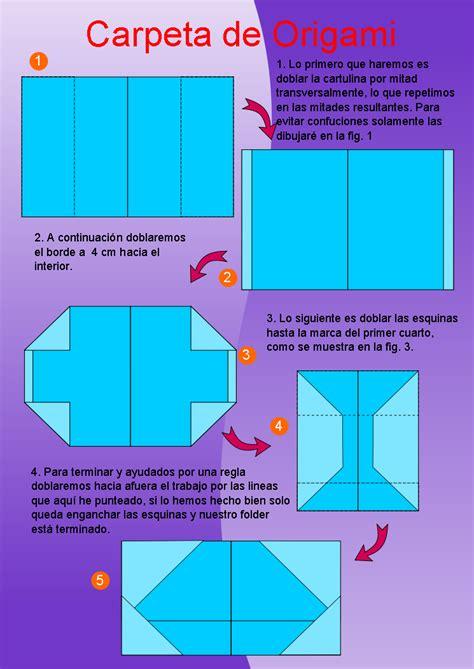 Origami Folder - como hacer folders imagui