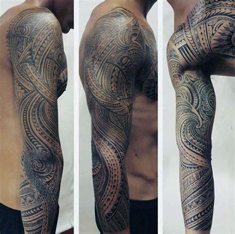 tattoo inspiration tribal 40 polynesian sleeve tattoo designs for men tribal ink ideas