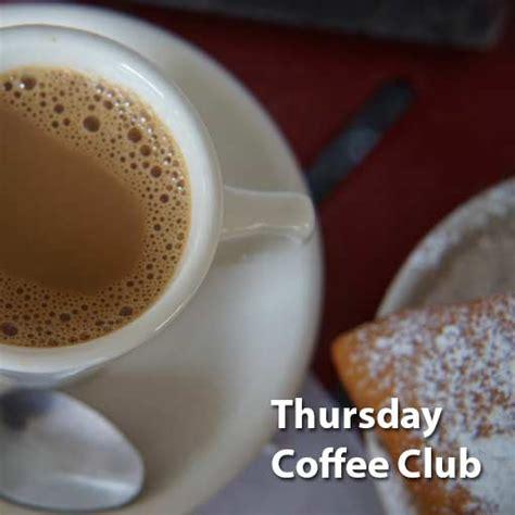 thursday coffee club freemasons camosun lodge