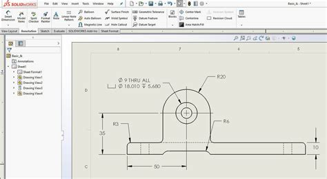 how to show dimensions how to hide show dimensions in a solidworks drawing