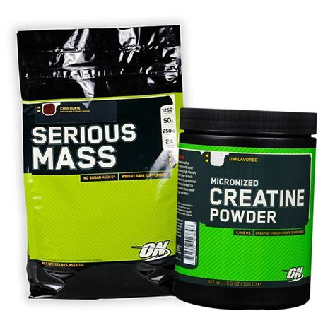 mass w creatine 178 pln serious mass creatine powder 5500g 300g