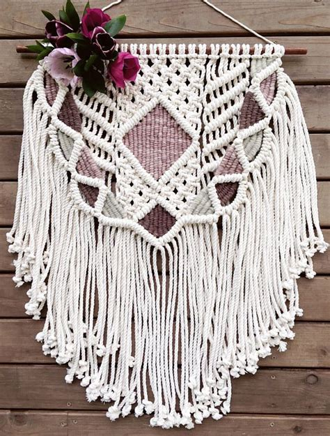 Macrame Weave - 480 best macrame weaving wall hangings mobiles images