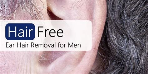 the manliest way to remove your ear hair gq ear hair removal for men your options hair free life