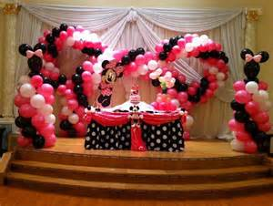 minnie decoration cake table decorations fiesta4kids