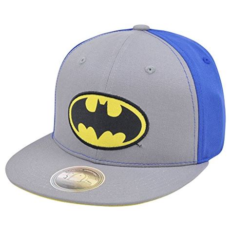 Topi Snapback Batman Logo 01 Navy batman ballcaps and hats