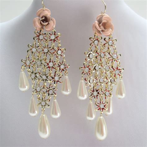 Big Chandelier Earrings Wedding Ring Jewellery Diamonds Engagement Rings