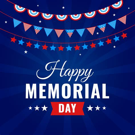 free happy day images happy memorial day celebration free vector