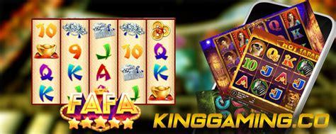 fafaslot provider slot   lengkap king joker