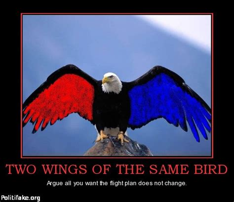 two wings same bird nothing changes for those who have